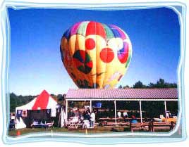 Hot Air Balloon at the Pavilion